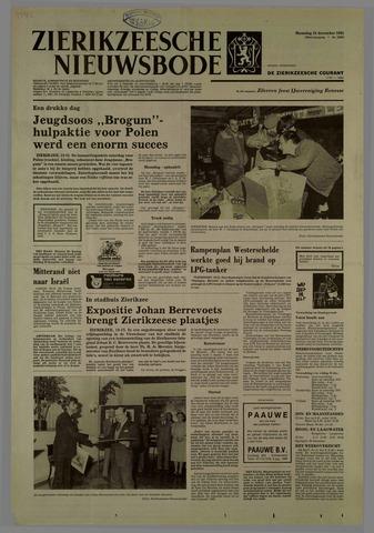 Zierikzeesche Nieuwsbode 1981-12-21