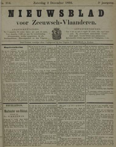 Nieuwsblad voor Zeeuwsch-Vlaanderen 1893-12-02