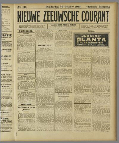 Nieuwe Zeeuwsche Courant 1919-10-30