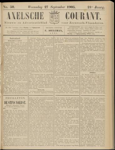 Axelsche Courant 1905-09-27
