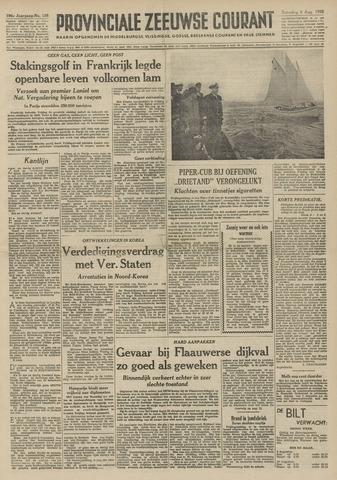 Provinciale Zeeuwse Courant 1953-08-08