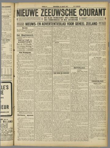 Nieuwe Zeeuwsche Courant 1927-03-24