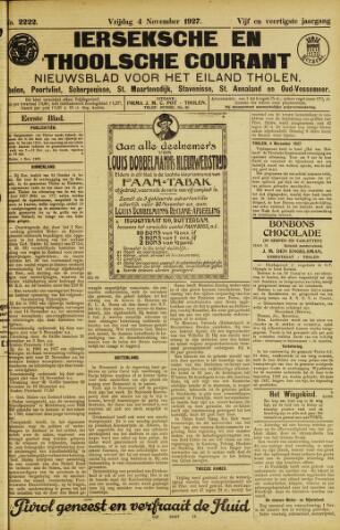Ierseksche en Thoolsche Courant 1927-11-04