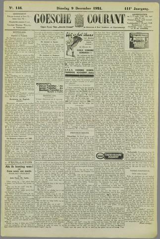 Goessche Courant 1924-12-09
