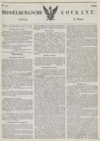 Middelburgsche Courant 1866-03-13
