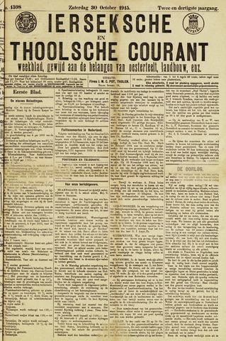 Ierseksche en Thoolsche Courant 1915-10-30