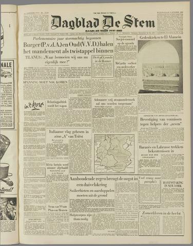de Stem 1954-10-06