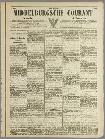 Middelburgsche Courant 1906-12-24