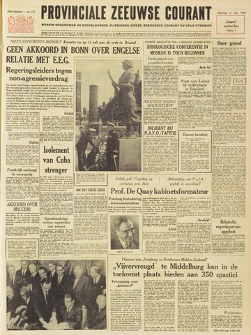 Provinciale Zeeuwse Courant 1963-07-06