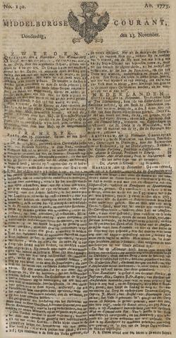 Middelburgsche Courant 1775-11-23