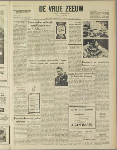 de Vrije Zeeuw 1960-12-02