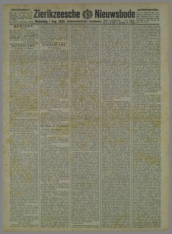 Zierikzeesche Nieuwsbode 1923-08-01