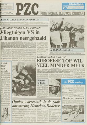 Provinciale Zeeuwse Courant 1983-12-05