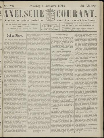 Axelsche Courant 1924