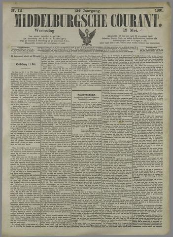 Middelburgsche Courant 1891-05-13