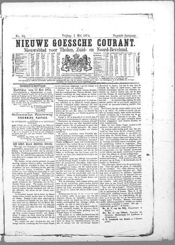 Nieuwe Goessche Courant 1874-05-01