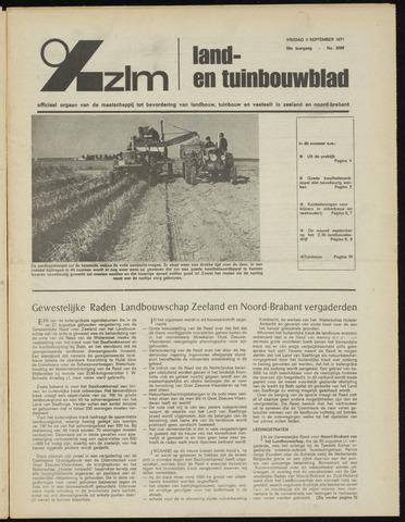Zeeuwsch landbouwblad ... ZLM land- en tuinbouwblad 1971-09-03