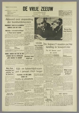 de Vrije Zeeuw 1968-10-31