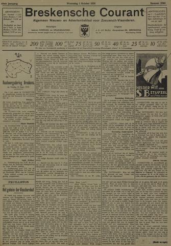Breskensche Courant 1930-10-01