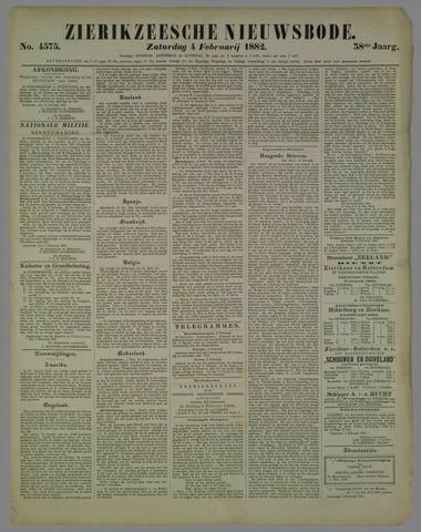 Zierikzeesche Nieuwsbode 1882-02-04