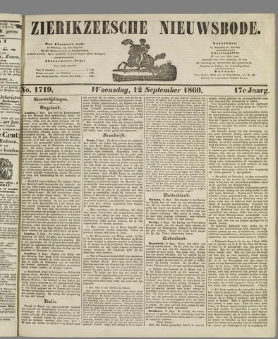 Zierikzeesche Nieuwsbode 1860-09-12