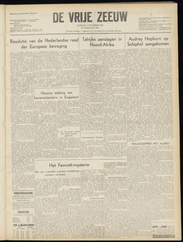 de Vrije Zeeuw 1954-11-02