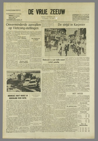 de Vrije Zeeuw 1965-09-03