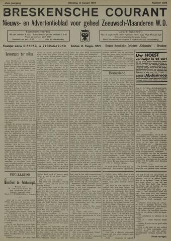 Breskensche Courant 1936-01-14