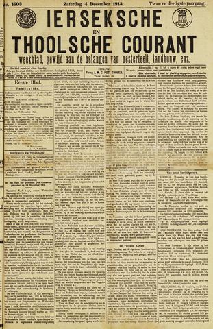 Ierseksche en Thoolsche Courant 1915-12-04