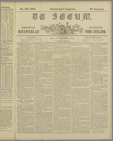De Zeeuw. Christelijk-historisch nieuwsblad voor Zeeland 1904-08-11