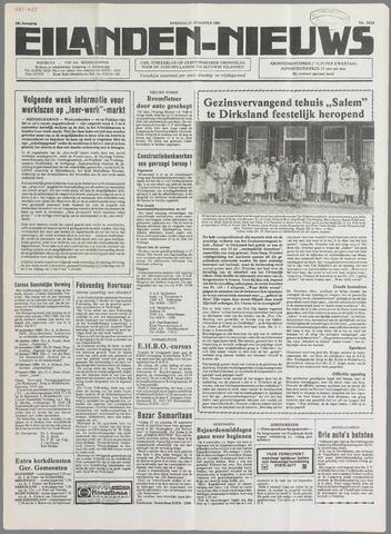 Eilanden-nieuws. Christelijk streekblad op gereformeerde grondslag 1985-08-27