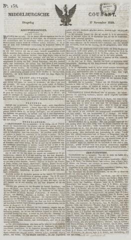 Middelburgsche Courant 1829-11-17
