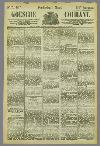 Goessche Courant 1917-03-01