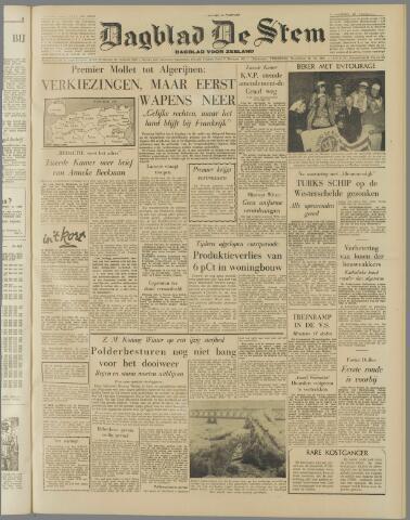 de Stem 1956-02-29