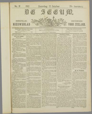 De Zeeuw. Christelijk-historisch nieuwsblad voor Zeeland 1912-10-12