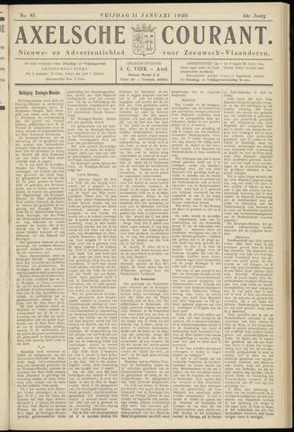 Axelsche Courant 1929-01-11