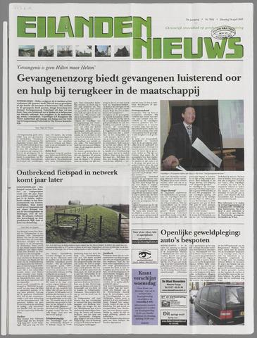 Eilanden-nieuws. Christelijk streekblad op gereformeerde grondslag 2007-04-24