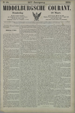 Middelburgsche Courant 1884-03-20
