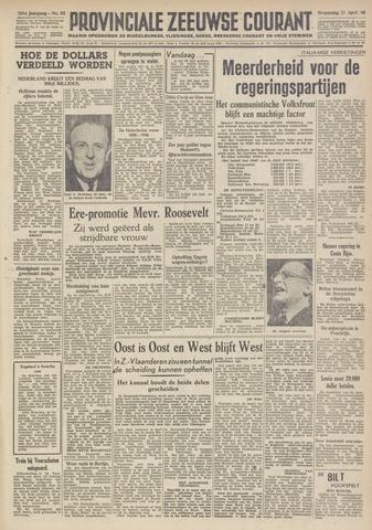 Provinciale Zeeuwse Courant 1948-04-21