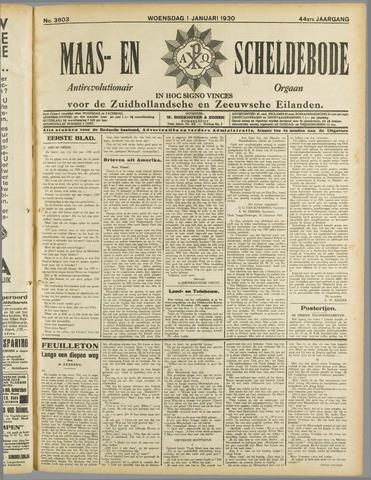 Maas- en Scheldebode 1930