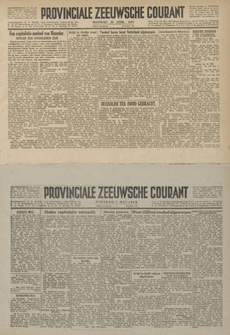 Provinciale Zeeuwse Courant 1945-04-30