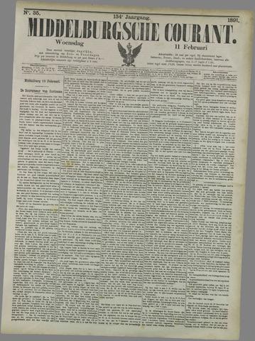 Middelburgsche Courant 1891-02-11