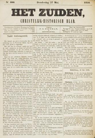 Het Zuiden, Christelijk-historisch blad 1880-05-27
