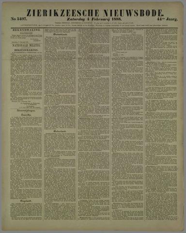 Zierikzeesche Nieuwsbode 1888-02-04