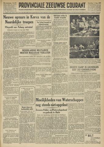 Provinciale Zeeuwse Courant 1950-08-14