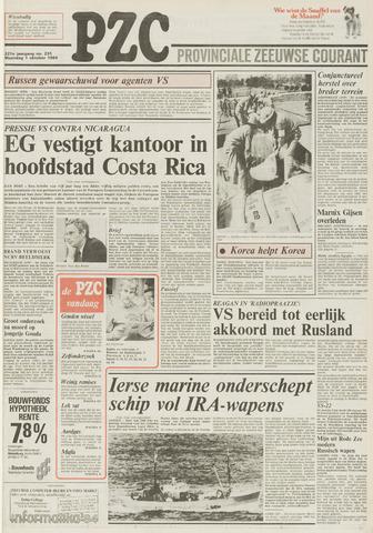 Provinciale Zeeuwse Courant 1984-10-01