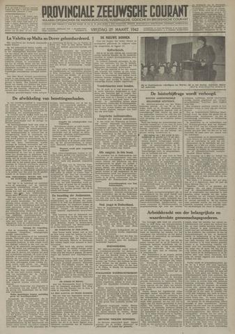 Provinciale Zeeuwse Courant 1942-03-27