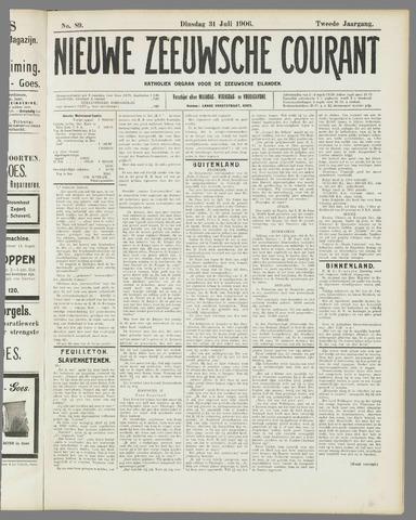 Nieuwe Zeeuwsche Courant 1906-07-31
