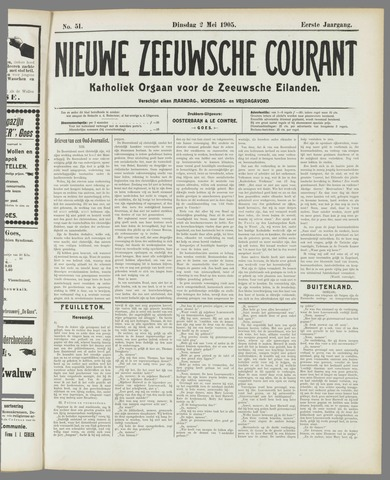 Nieuwe Zeeuwsche Courant 1905-05-02