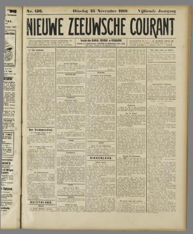 Nieuwe Zeeuwsche Courant 1919-11-25